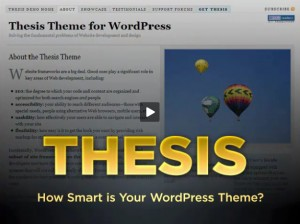 Thesis for WordPress