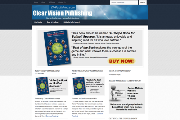 Clear Vision Publishing — Women's Fast Pitch Softball - Best of the Best-