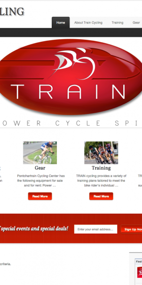Train Cycling — PONTCHARTRAIN CYCLING CENTERS-6